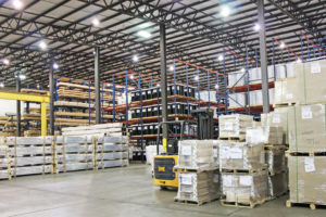 The warehouse of logistics and distribution Days Distribution & Logistics in Elkhart, IN