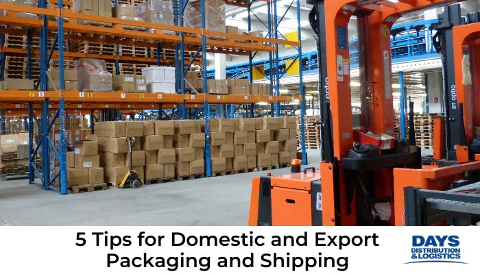 Packaging and Shipping warehouse.