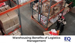 Logistics-Management in a large warehouse..